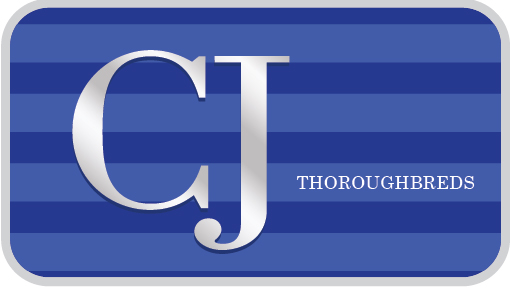 CJ Thoroughbreds logo